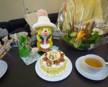 カフェビータでエリーゼさんの誕生日会