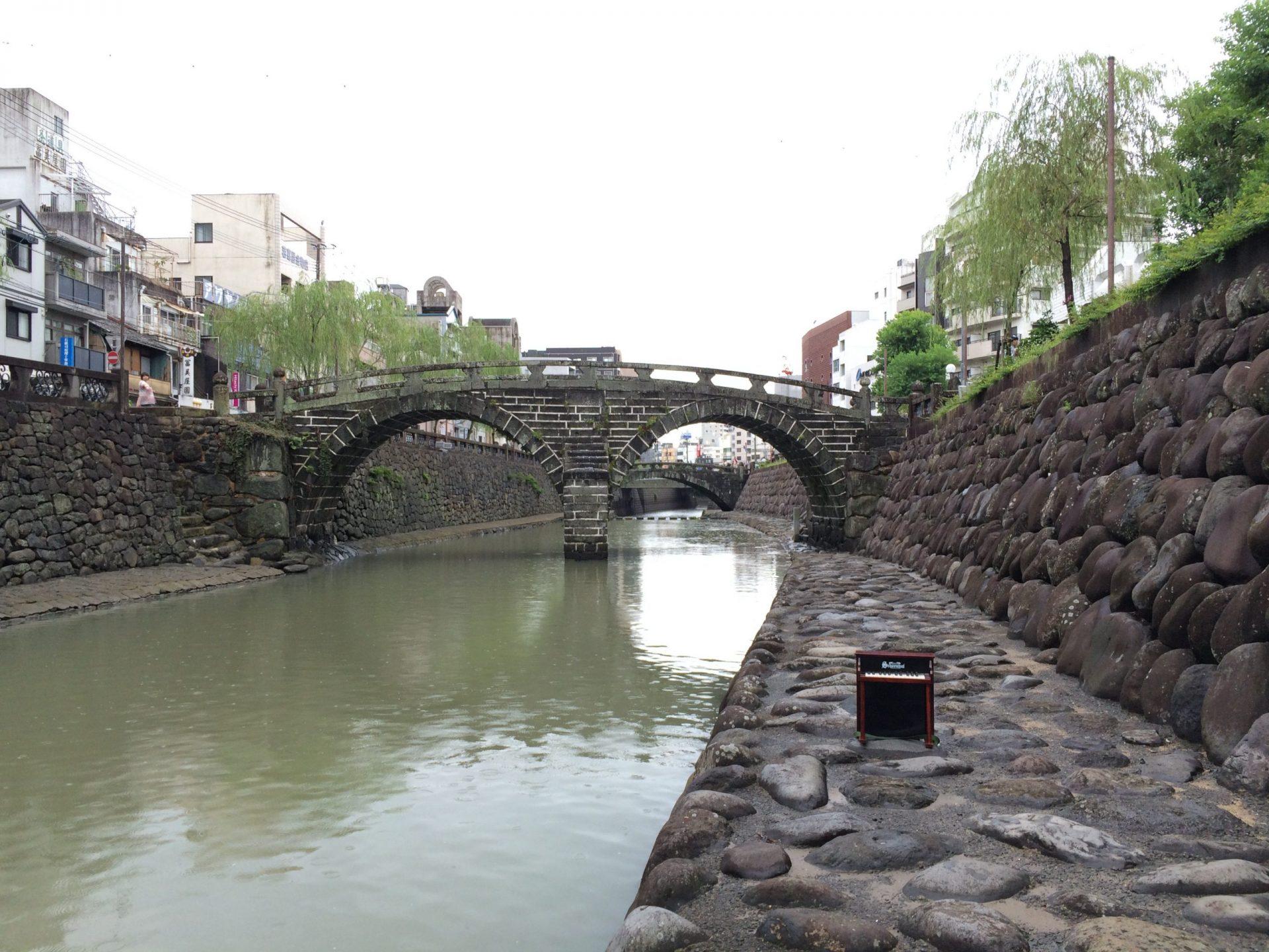 九州初よりみち15〜長崎1日目、眼鏡橋周辺のアーケード街によりみち