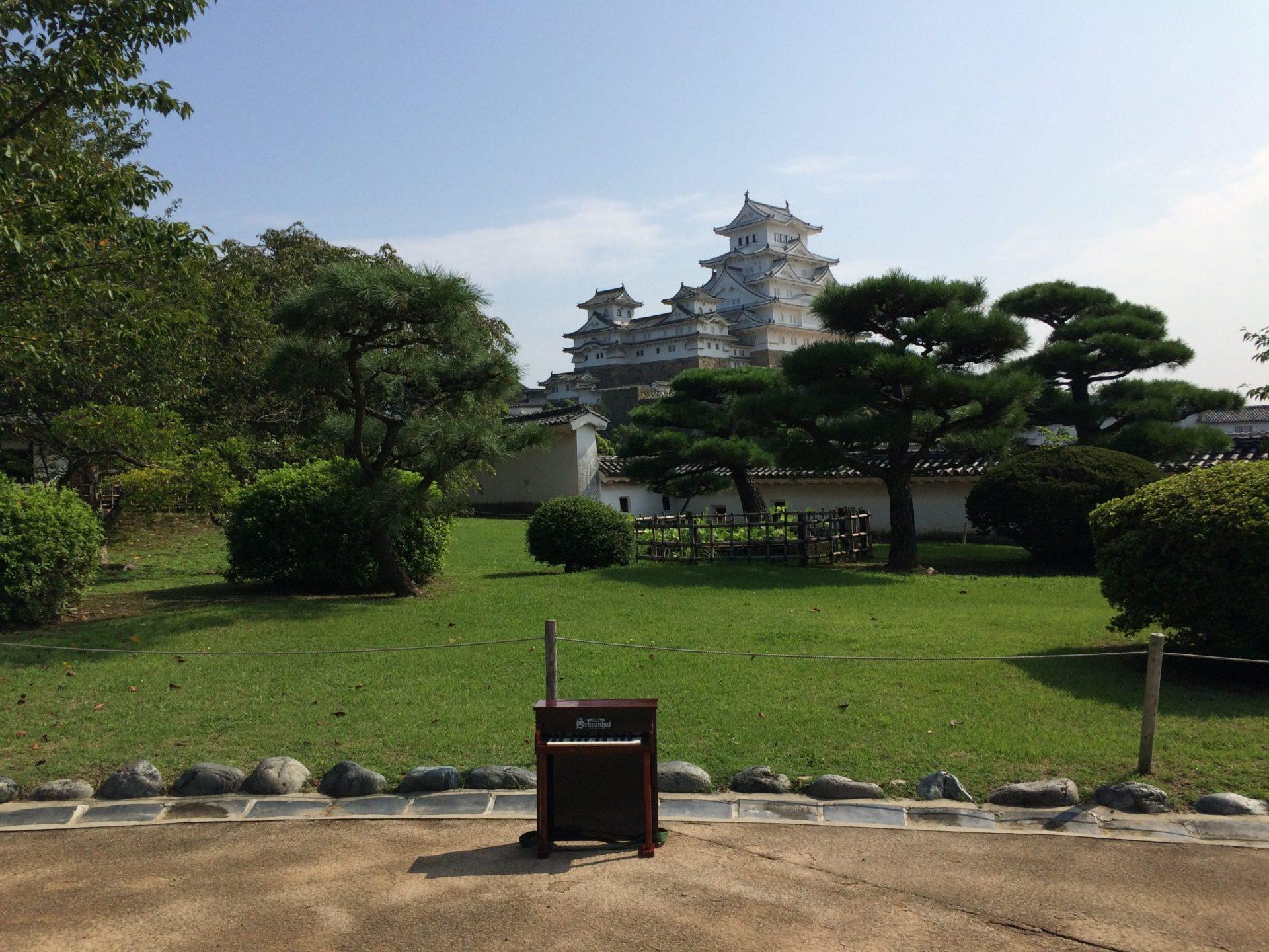 白いと噂の「姫路城」によりみち