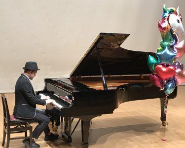埼玉県鴻巣市|ピアノ発表会にゲスト出演、「こうのす菓子祭り」によりみち