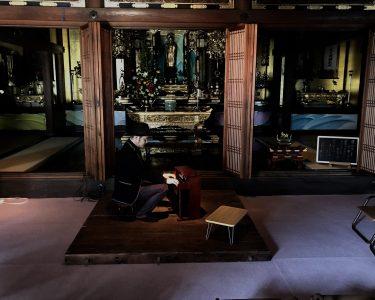 岐阜県岐阜市|岐阜上宮寺でインスタレーション&トイピアノ演奏「鳥の音楽」
