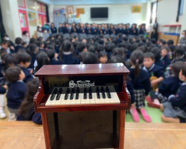 岐阜県岐阜市|ながら幼稚園でよりみちコンサート、川原町まで散策
